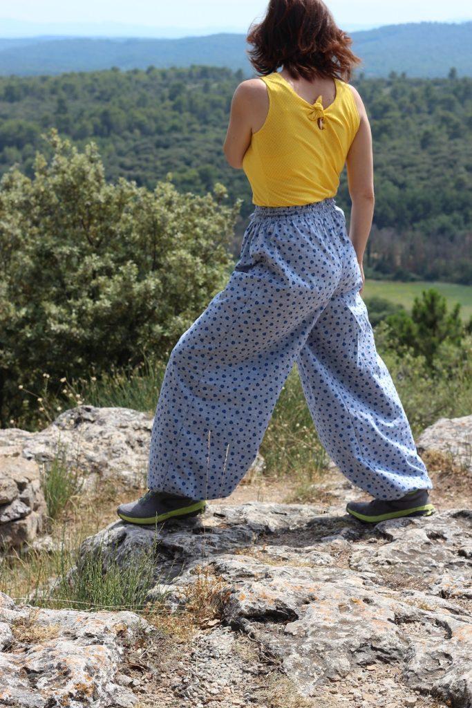 Coudre le pantalon élastiqué LORIDGINA sport
