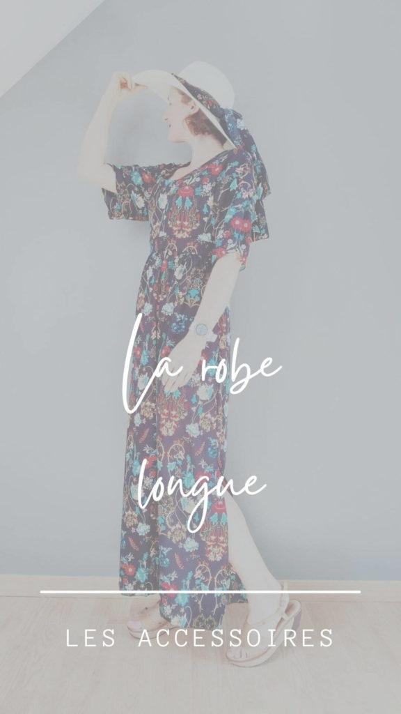 comment coudre et porter la robe longue