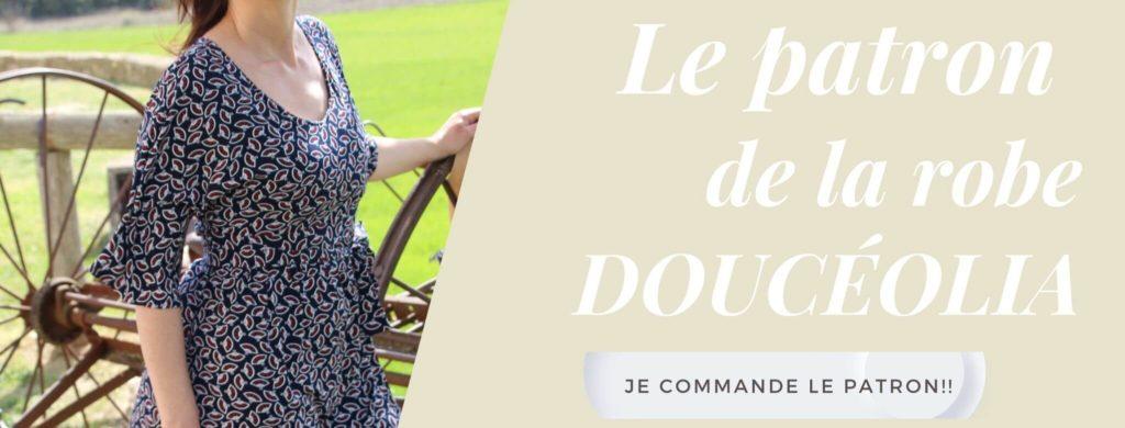 patron de couture Robe Doucéolia