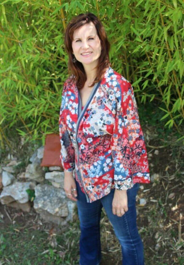 patron kimono sérénita